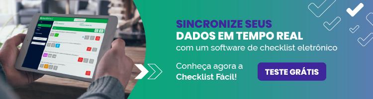 Sincronize Dados com Checklist Fácil - Teste Grátis