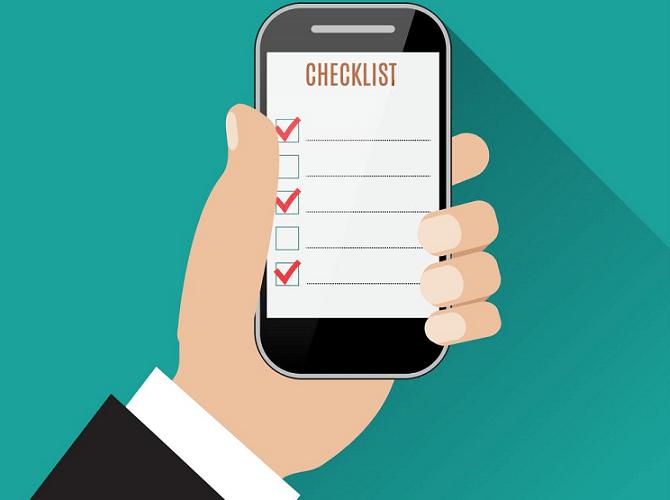 Como escolher um aplicativo de checklist mobile que funcione offline?