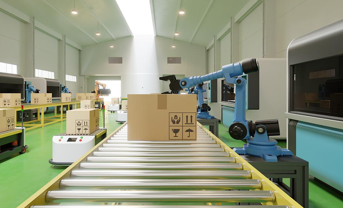 Máquinas auxiliando na gestão de cadeia de suprimentos