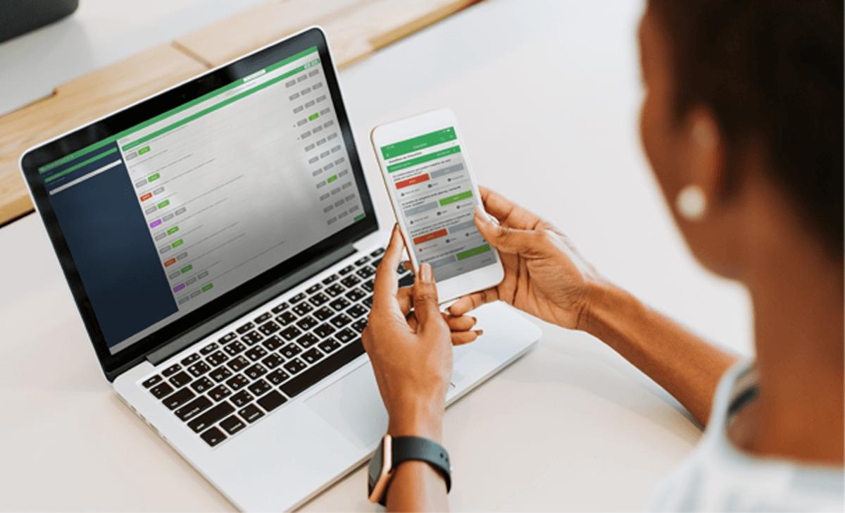 modelo de checklist no software checklist fácil