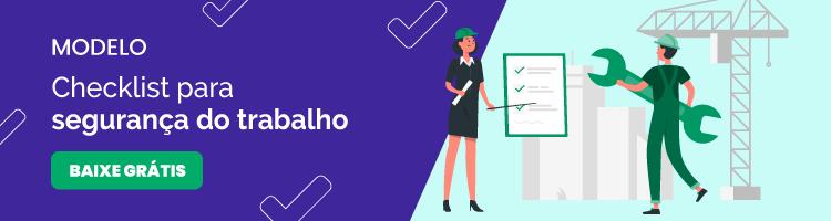modelo de checklist para segurança do trabalho